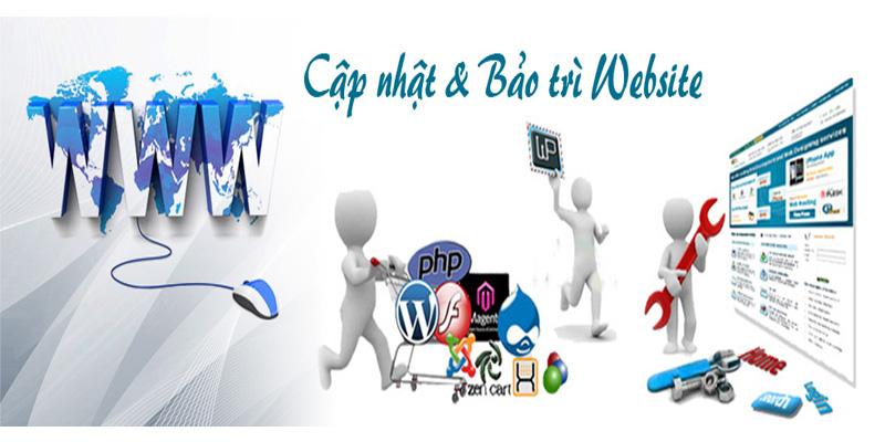 cập nhật và bảo trì website định kỳ