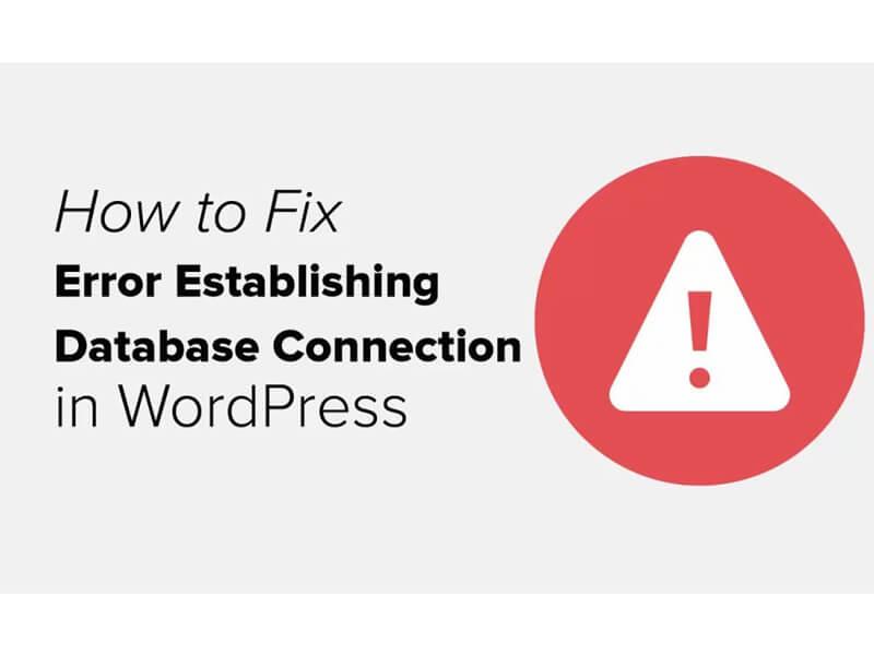Lỗi kết nối databate wordpress