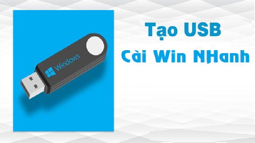 Hướng dẫn tạo USB cài win 10 chi tiết nhất