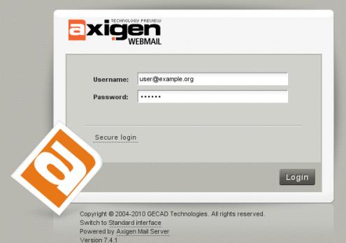 axigen mail