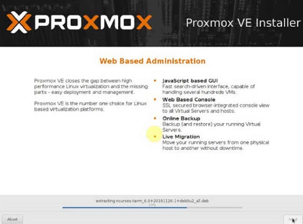 Dịch vụ cung cấp Proxmox tại Việt Nam