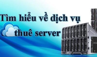 Dịch vụ thuê server