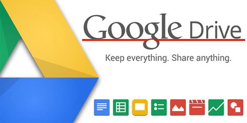 trình duyệt Google Drive