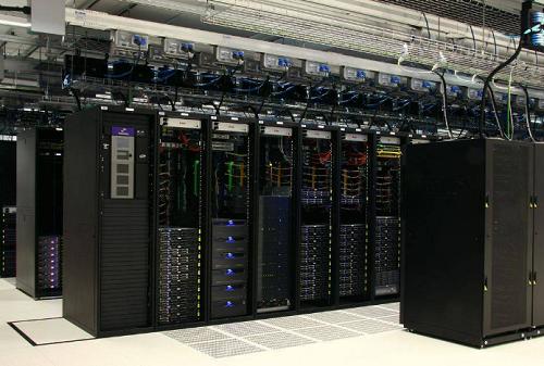 Hệ thống máy chủ của một ngân hàng
