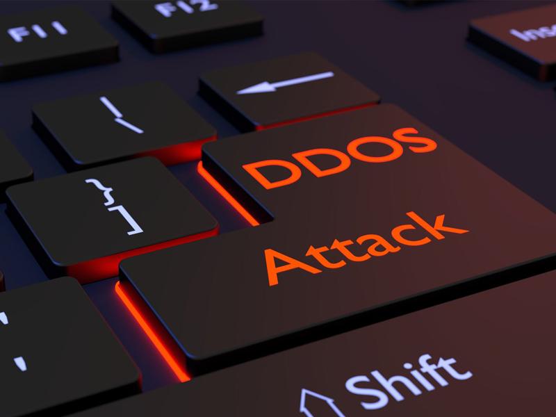 Hình ảnh minh họa DDOS