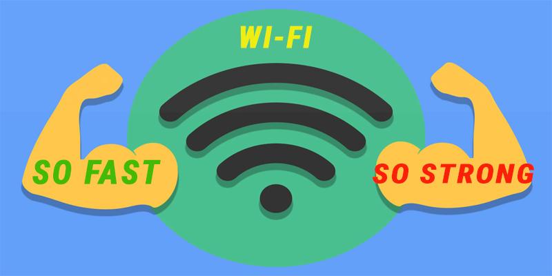 Cách tăng tốc độ wifi