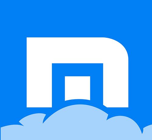 Logo trình duyệt Maxthon