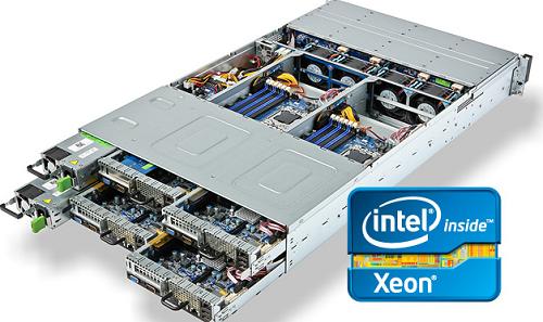 Máy chủ của Intel luôn tạo được niềm tin