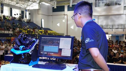 Máy tính được trưng bày