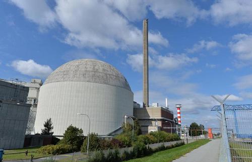 Nhà máy điện hạt nhân ở Đức
