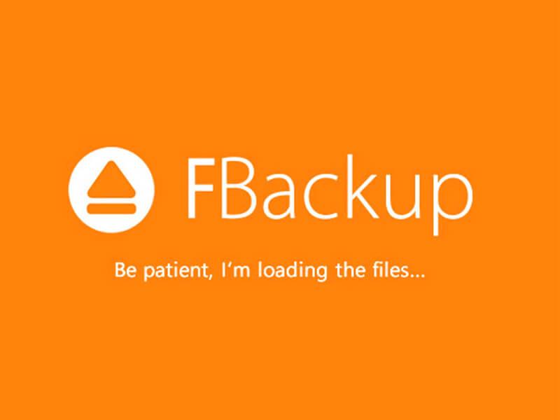 Phần mềm FBackup