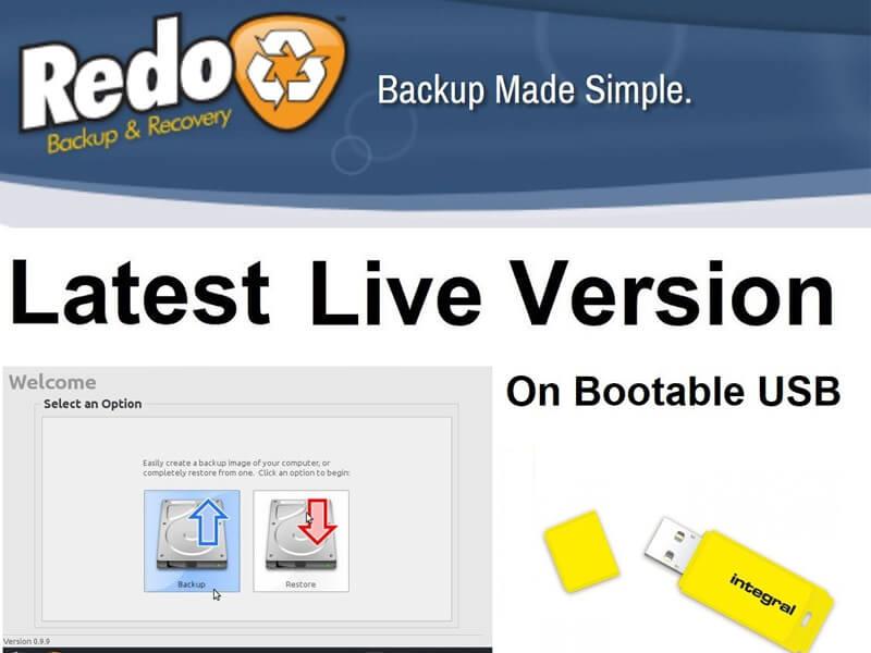 Phần mềm Redo backup Recovery