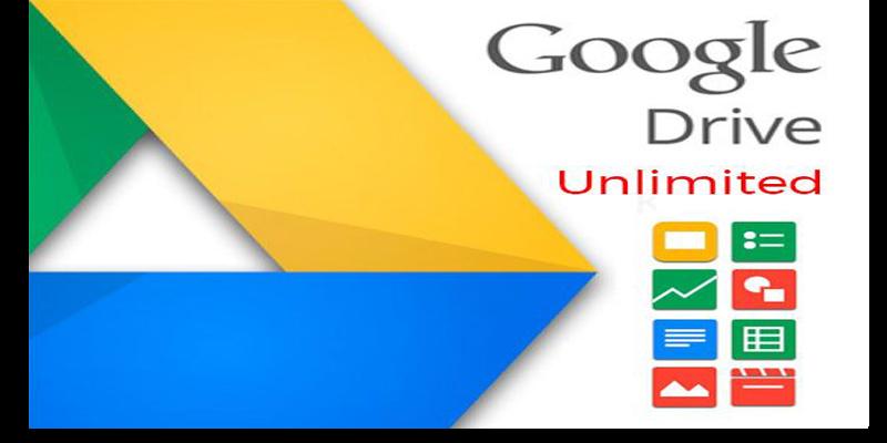 Google Drive - dự trự không giới hạn