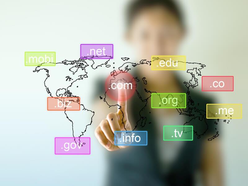 Hình ảnh minh họa về domain