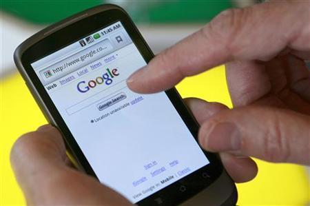 Số người dùng của google bằng smart phone tăng lên